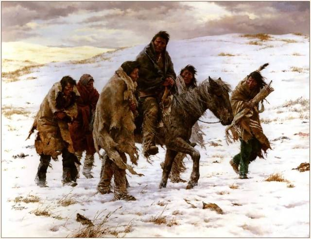 Chief-Joseph-Rides-To-Surrender