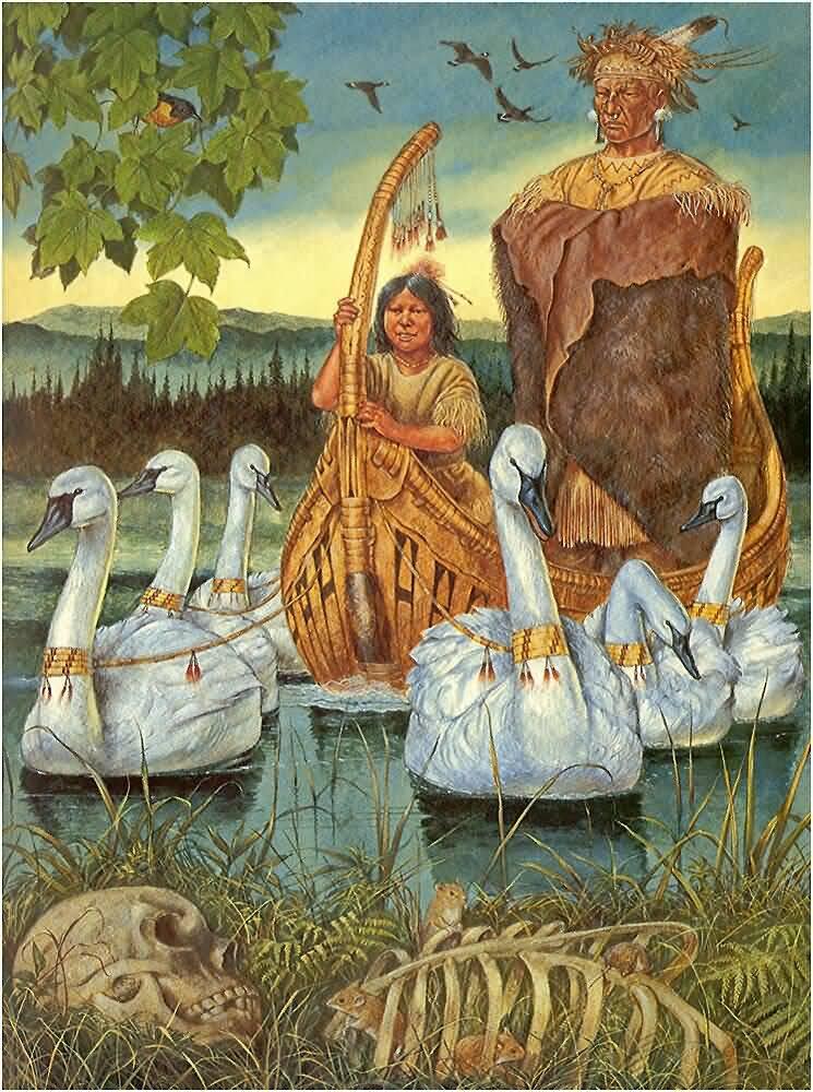 подтвердила, мифы североамериканских индейцев картинки герб происходит